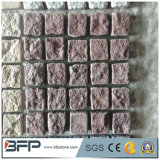 Pierres de pavé naturel Granite Cobble Stones for Garden Lanscaping