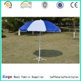 PU Revestido 100% poliéster tecido 300 * 300d tecido de guarda-chuva de guarda-sol com anti UV