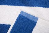 100% coton Serviette de plage de bande de couleur
