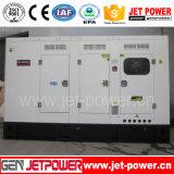Générateur portatif refroidi à l'eau 125kVA de bâti silencieux de moteur diesel