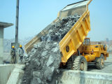 Cadena de producción del polvo de la piedra caliza