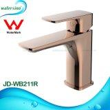 Jd-Wb211r nam de Gouden Tapkraan van de Goedkeuring van het Watermerk van de Mixer van het Bassin toe