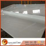 Lajes grandes de pedra de vidro Crystalized brancas da alta qualidade para a parte superior da vaidade