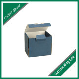 Boîte à tasses imprimée personnalisée recyclée