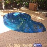 O melhor revestimento resistente UV de venda da madeira contínua da segurança WPC para o jardim