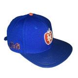 PU coton bleu broderie personnalisée Sports Hat Cap Snapback