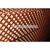 Refroidisseur eau-air de refroidissement humide de garniture de support de mur/guichet
