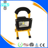 Portable impermeable recargable reflector del LED 20W