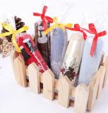 Полотенце жаккарда высокого качества для детей режа подарок рождества полотенца конфеты бархата