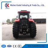 Новый 110HP фермы трактора с помощью крана Trialer журнала