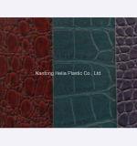 Fabrik kundenspezifische Belüftung-künstliche Beutel-Leder-Materialien
