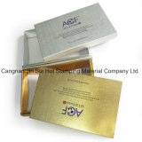 Material de impresión de oro de la lámina de estampado en caliente para Papel Caja de plástico