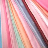 Сатинировка 100% поли с печатание для ткани одежд женщин