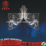 LEDの販売のための外側によって使用される商業青いクリスマスの通りの装飾のモチーフライト