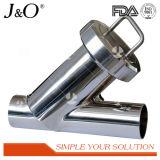 Filtro de filtro sanitário Y com filtro de aço inoxidável de soldagem
