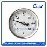 Thermomètre à eau chaude - Thermomètre à montage arrière - Thermomètre à tubes bimétalliques