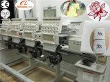 Machine de broderie de chapeau automatisée 4 par têtes de la première usine de machine de broderie de la Chine