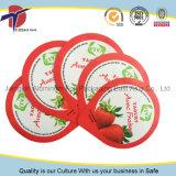 95mm Aaluminum Tapa con impresión en relieve y a la taza de yogur