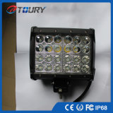 Luz doble del trabajo de la fila LED de la luz de conducción del coche LED del carro 72W