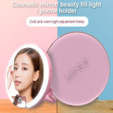 Luz recargable de múltiples funciones del anillo LED Selfie con la linterna del espejo (RK16)