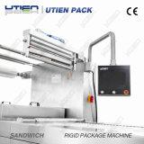 Bäckerei-Zwischenlage-Brot-Kuchen Thermoforming Vakuumgas-bündige Verpackmaschine