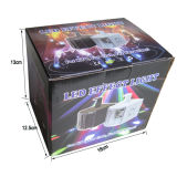 Mini LED de alto brillo de luz Derby 6 3W mini luz LED de la mariposa del disco de DJ Party la luz con control remoto