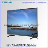 """65 """"breite Betrachtungs-WinkelFHD Android 4.4 LED Fernsehapparat-CPU 1GHz 4GB grelles WiFi"""