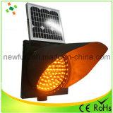 300mm, amarillo, el LED parpadea la luz de advertencia de tráfico de la energía solar