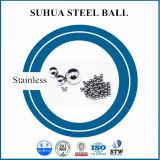 高く10mmのステンレス鋼の球の円形の金属球を明確にしなさい