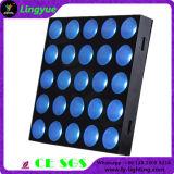 Effet Lumière 25pcs 3dans1 matrice de LED RGBW Cel 5X5 30W