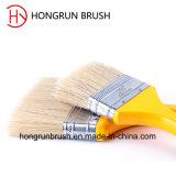 Деревянная щетка краски ручки (HYW0402)
