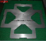 CNC da elevada precisão que faz à máquina a peça de aço carimbada para o instrumento