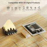 Tomada portuária do USB Selling4 de China lâmpadas de mesa flexíveis da carga do diodo emissor de luz da cor da melhor multi