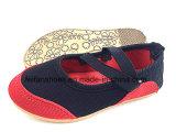 最新の赤ん坊の注入のズック靴の幼児履物の靴(FFBB1228-02)
