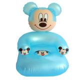 Karton-Zeichen-aufblasbares Kind-Sofa