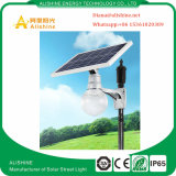 lámpara de calle solar de la luz LED del jardín de los productos 9W con el mono panel solar