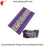 昇進(YH-HS086)のための100%年のポリエステル25*50cm着色されたヘッドスカーフ
