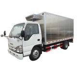 De bonne qualité de la marque japonaise Isuzu 100p Petit Mini 3tonnes 5 tonnes de viande végétale Transports camion réfrigéré Corps en aluminium