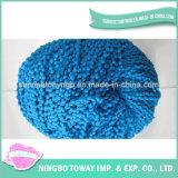 Tecelagem de fio de poliéster de aparecimento da luz de tricotar fantasia - 6 fios de algodão