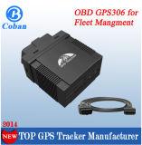 Veículo Foctory Rastreador veicular GPS GPS do dispositivo de rastreamento de OBD II 306A