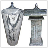 Parte superiore Polished di vanità del granito, lavabo per la stanza da bagno (SV011)