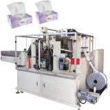 Automatische Wegwerfabschminktuch-Papierverpackmaschine