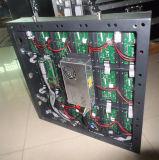 Cylindre polychrome personnalisé/Afficheur LED rond avec le panneau incurvé (P6, P3)