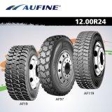 모든 강철 광선 트럭 타이어 11r24.5 12r22.5 광업 타이어