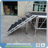Faible prix plate-forme en bois profilé en aluminium scène extérieure
