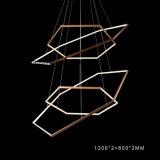 Bestes dekoratives LED-modernes hängendes acrylsauerlicht (AQ-66056-4)