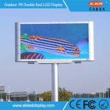 Im Freien doppelte mit Seiten versehene Bildschirmanzeige LED-P8 für das Bekanntmachen