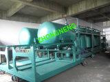 Usine de réutilisation d'huile à moteur, distillerie encrassée d'huile à moteur, usine noire de purification d'huile à moteur