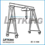 Fabricante de la grúa de Liftking, grúa de pórtico portable