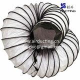 Высокое качество из гибкого пластика вентиляционный воздуховод